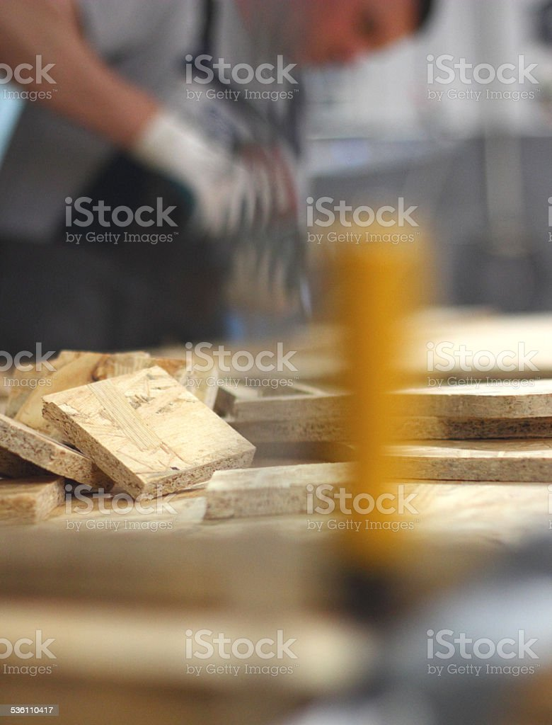 Industry house stock photo
