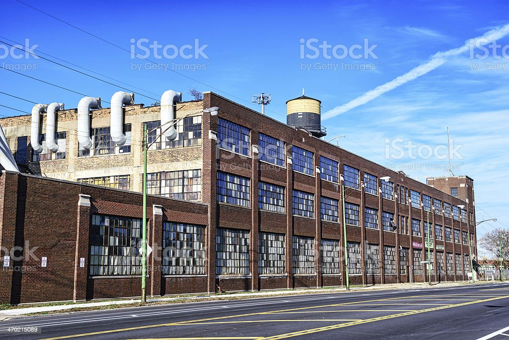 Industry in Avalon Park, Chicago stock photo