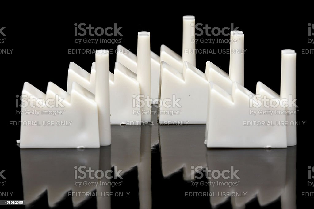 Industry is War royalty-free stock photo