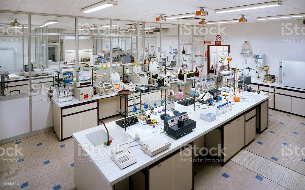 Industry laboratory stock photo