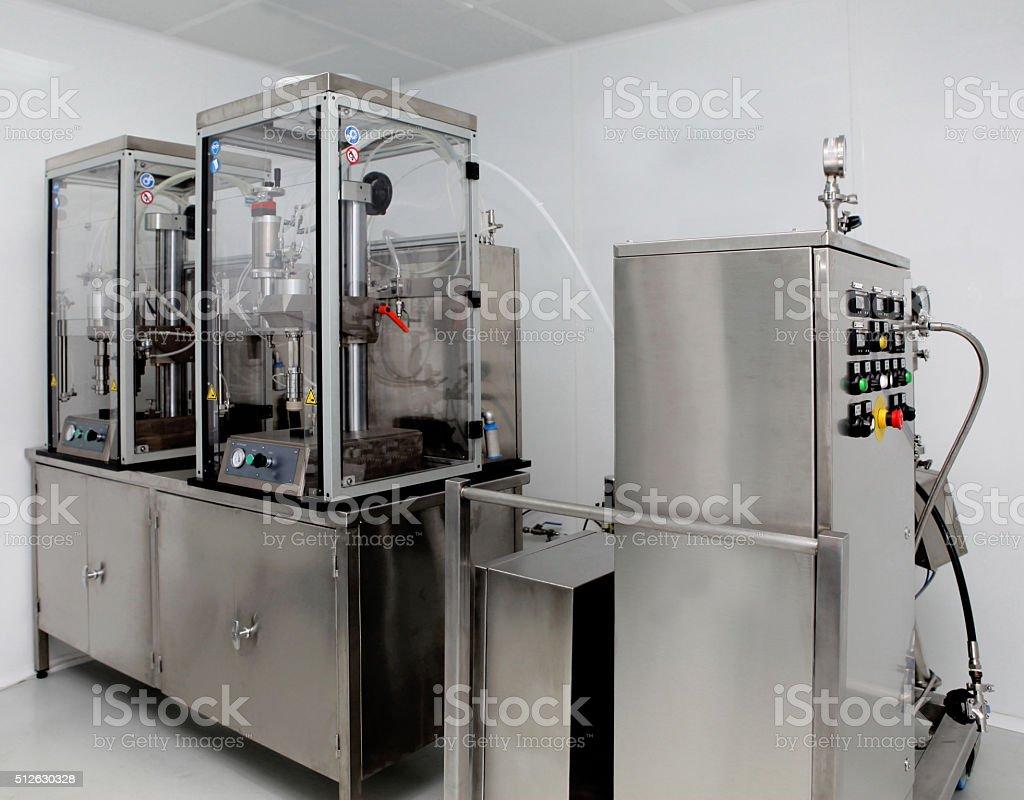 Industry machine stock photo
