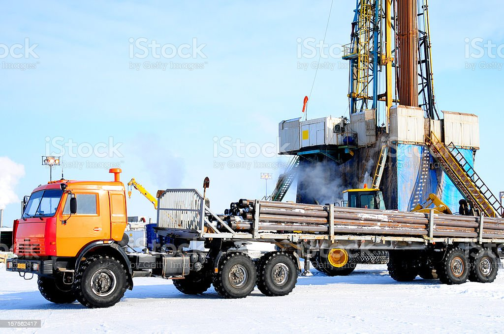 Industry - oil & gas royalty-free stock photo