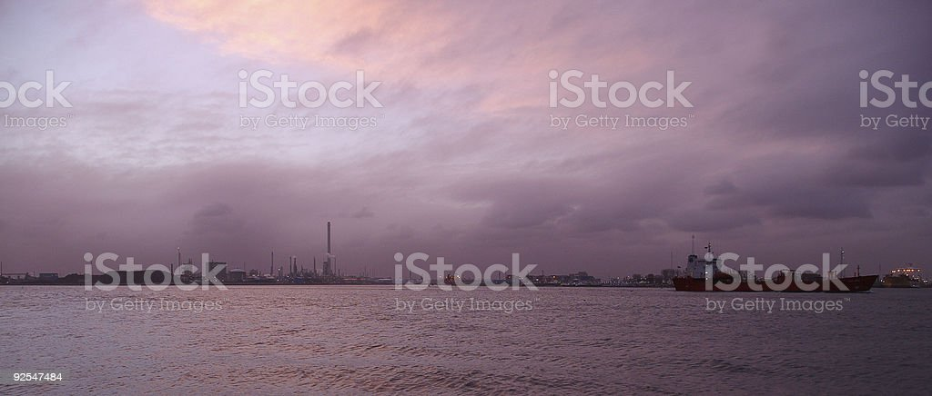 Industry Panorama royalty-free stock photo