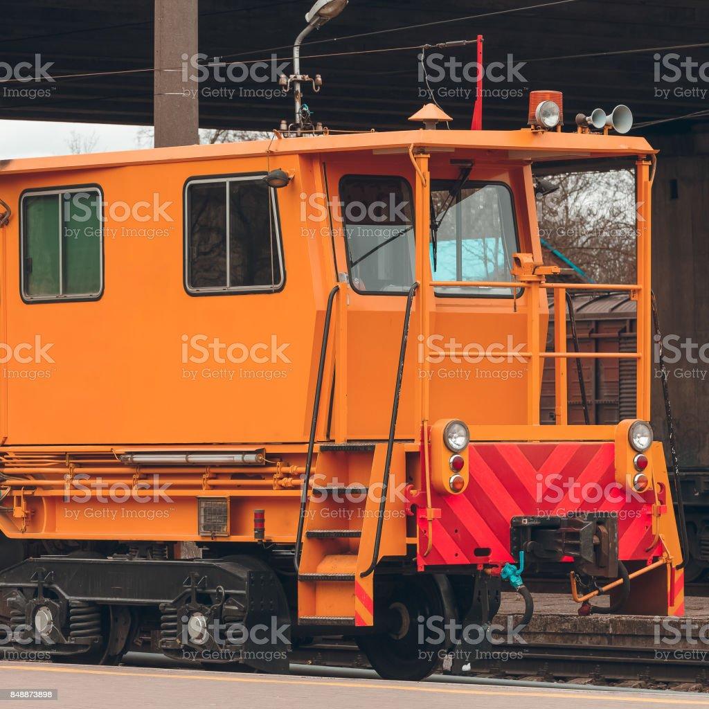 Industry repair train stock photo