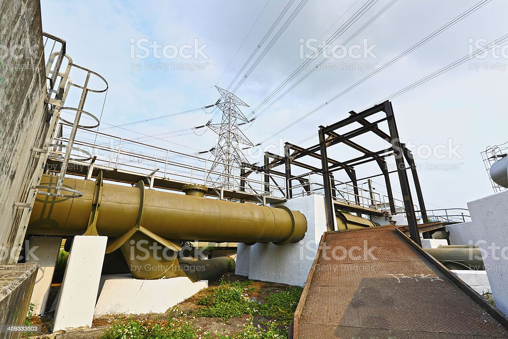 industry scene royalty-free stock photo