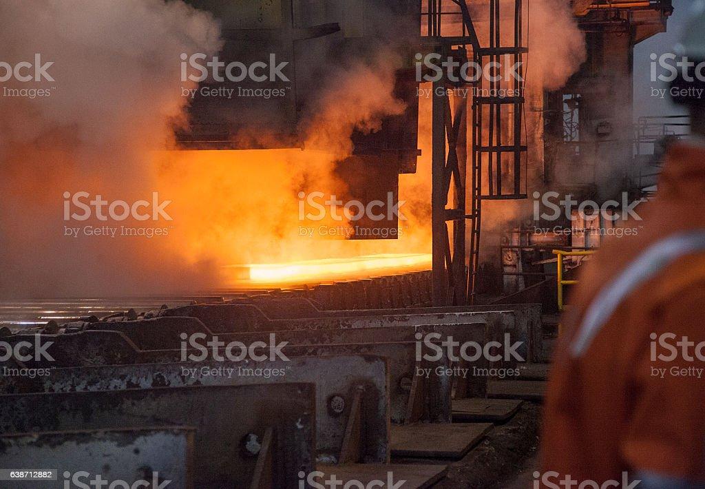 Industry steel stock photo