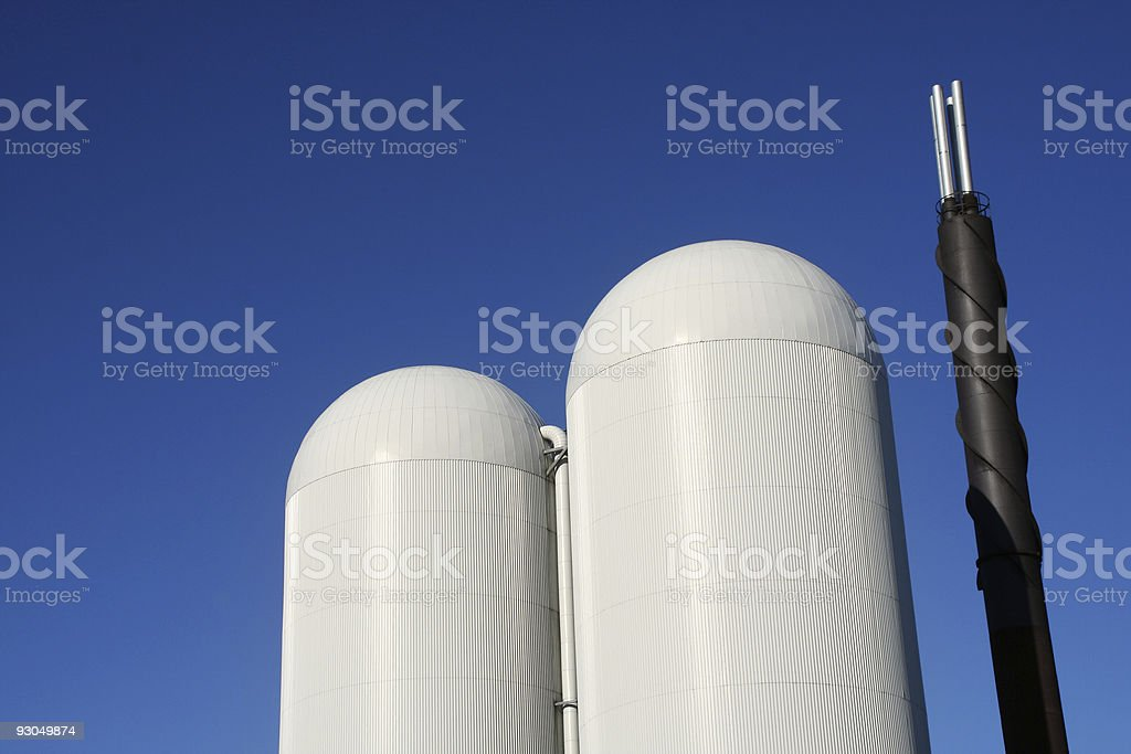 Industry structures royalty-free stock photo
