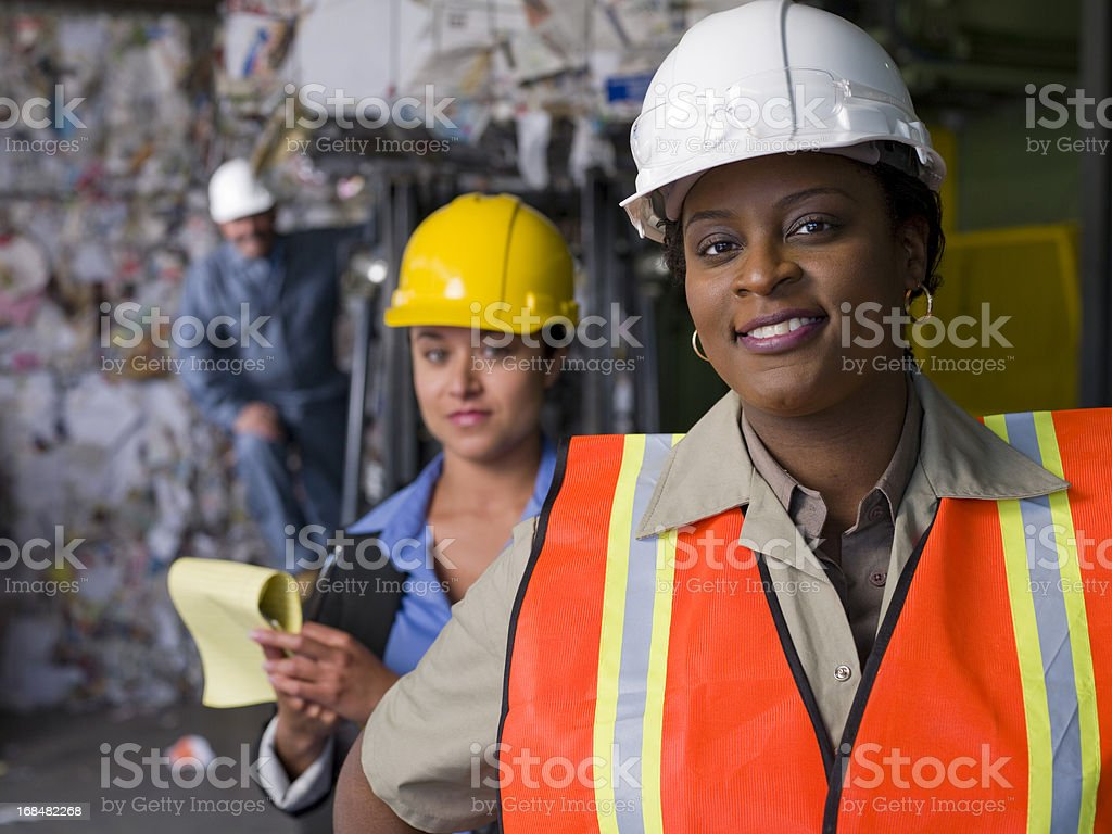 Industry Team royalty-free stock photo