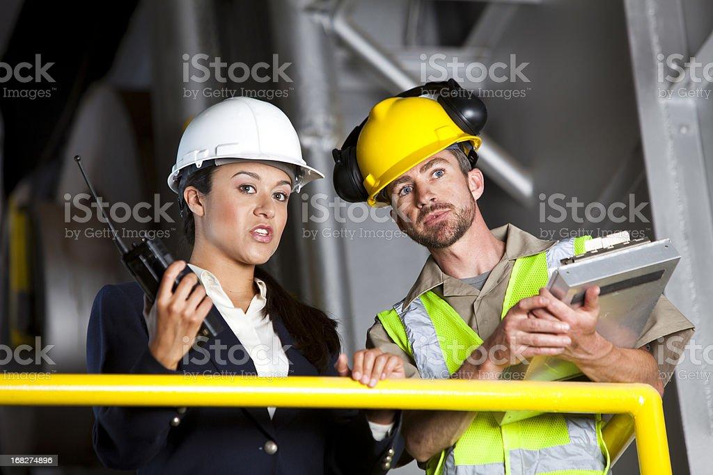 Industry Teamwork royalty-free stock photo