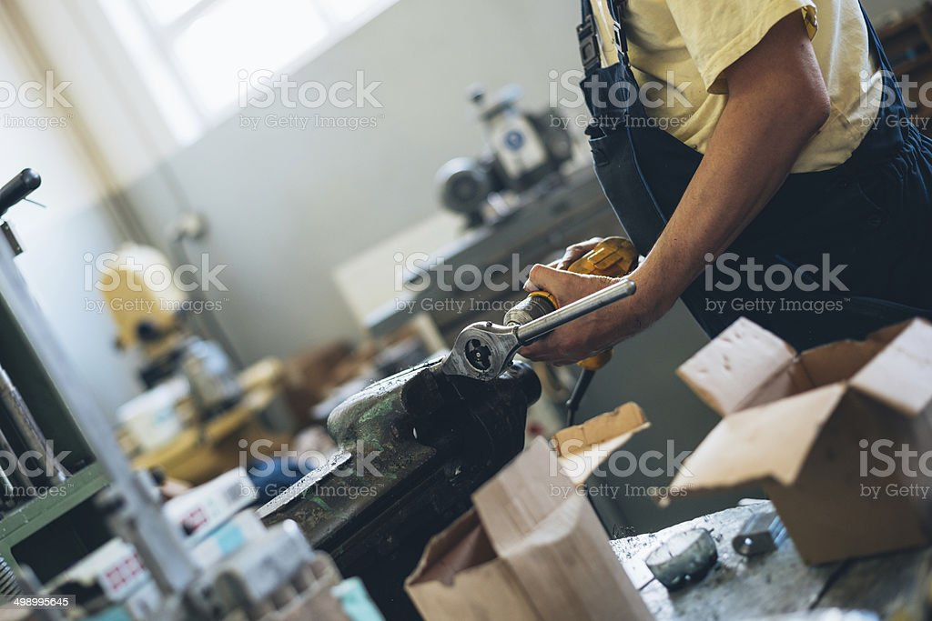 Industry worker royalty-free stock photo