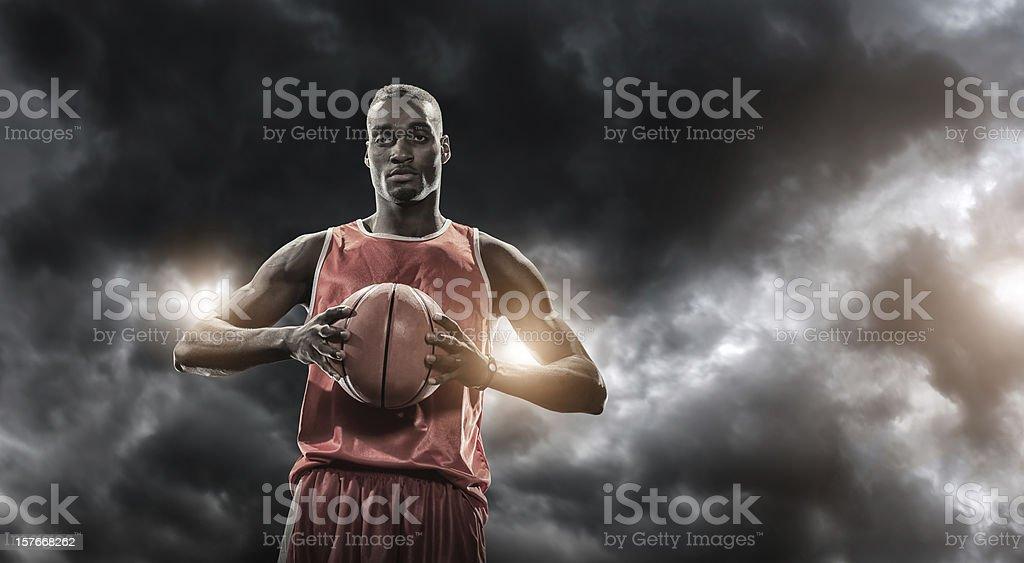 Inese Basketball Player stock photo