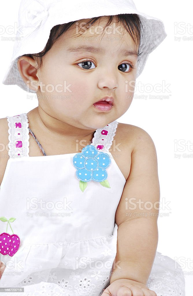 Infant 6-8 month royalty-free stock photo