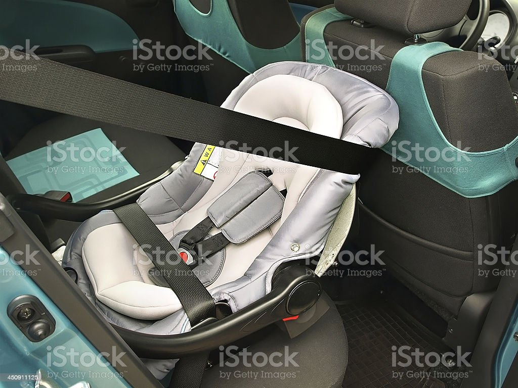 Infant seat stock photo