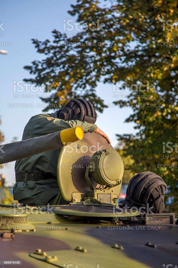 Infantry Fighting Vehicle of the Serbian Armed Forces stock photo