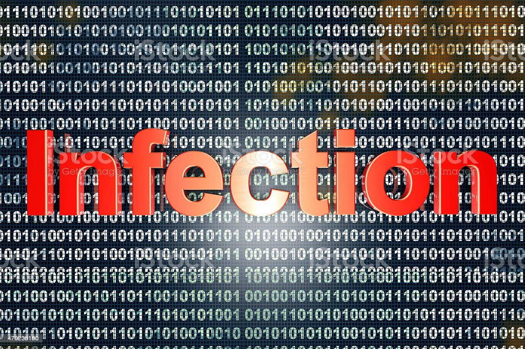 Infection stock photo