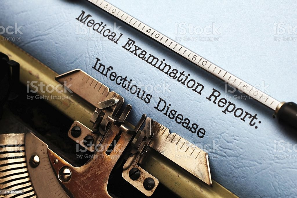 Infectious disease royalty-free stock photo