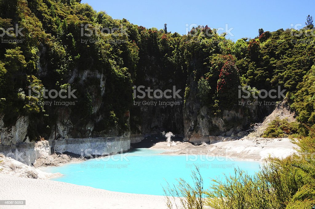 Inferno cratera foto royalty-free