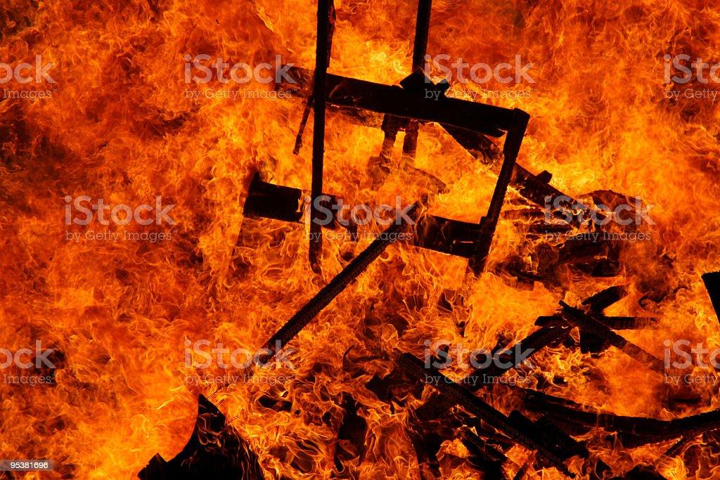 Inferno! royalty-free stock photo