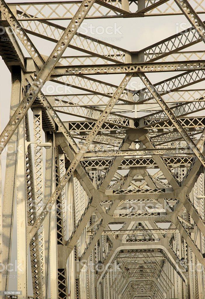 infinite bridge structure stock photo