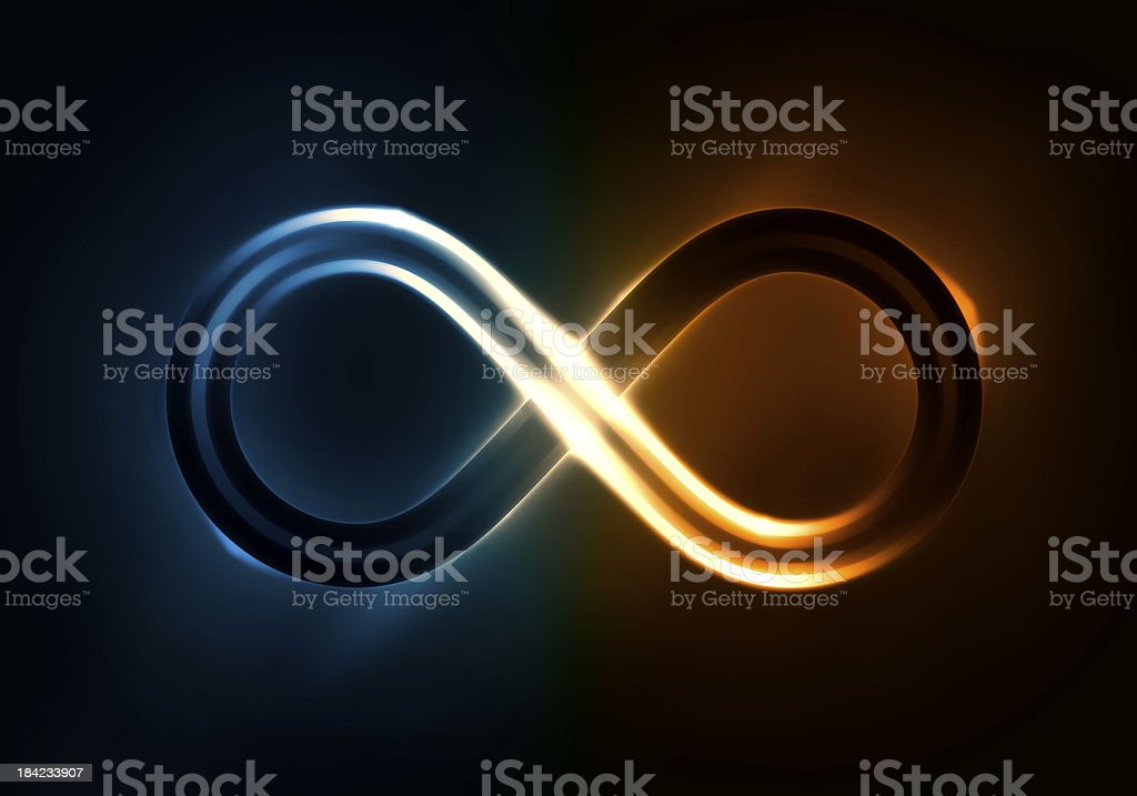 Infinite Light stock photo