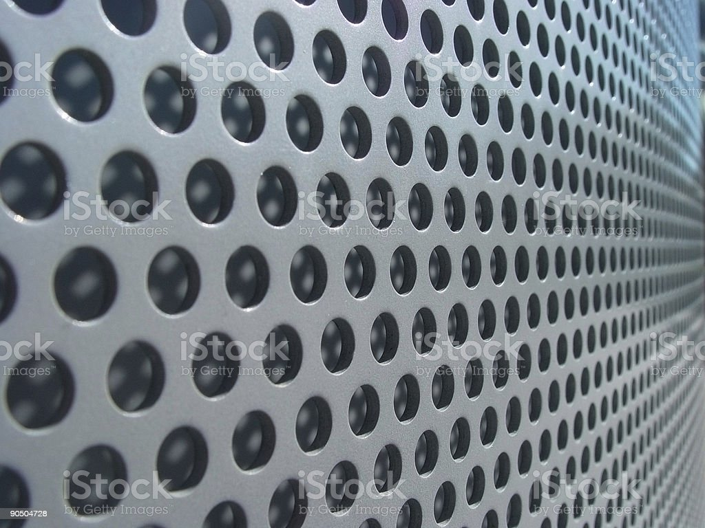 infinite perforations royalty-free stock photo