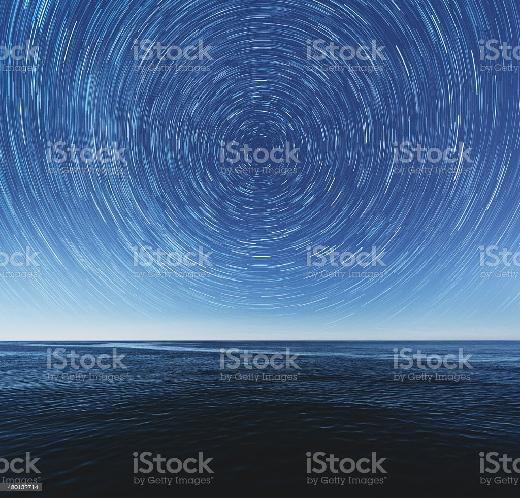 Infinite View stock photo