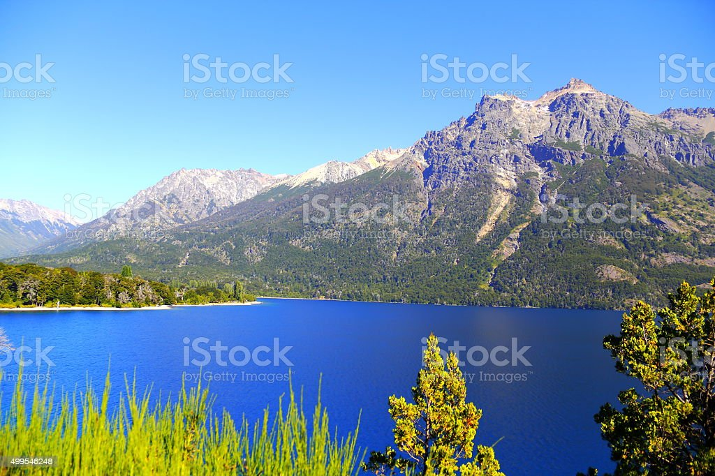 Infinitely Blue. Hi res stock photo