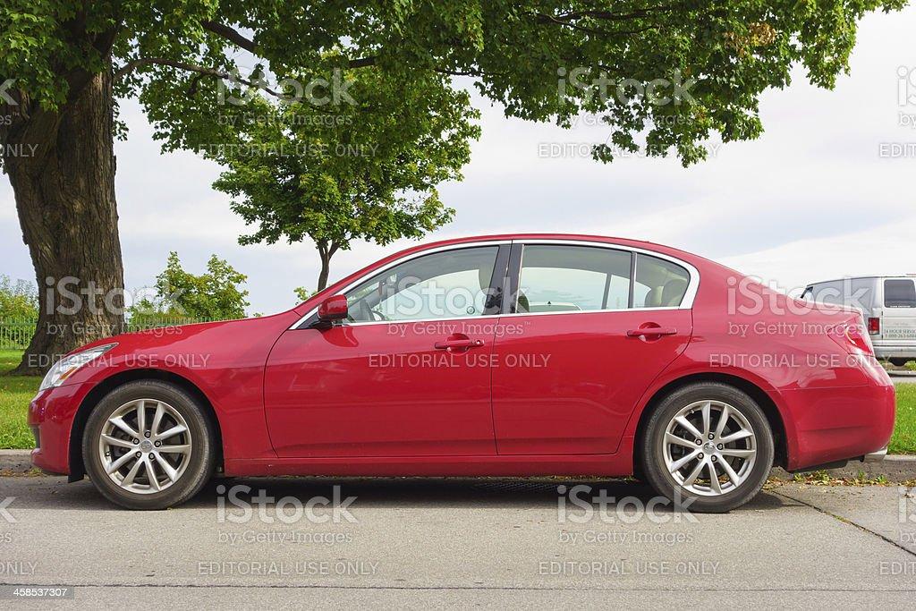 Infiniti G35 royalty-free stock photo