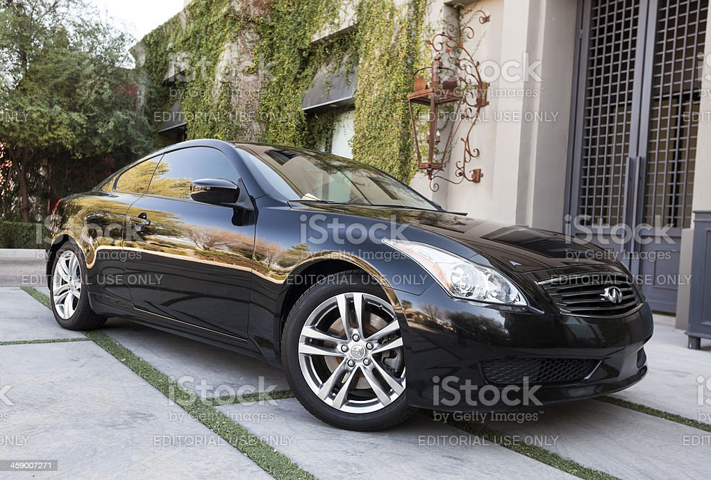 Infiniti G37 royalty-free stock photo