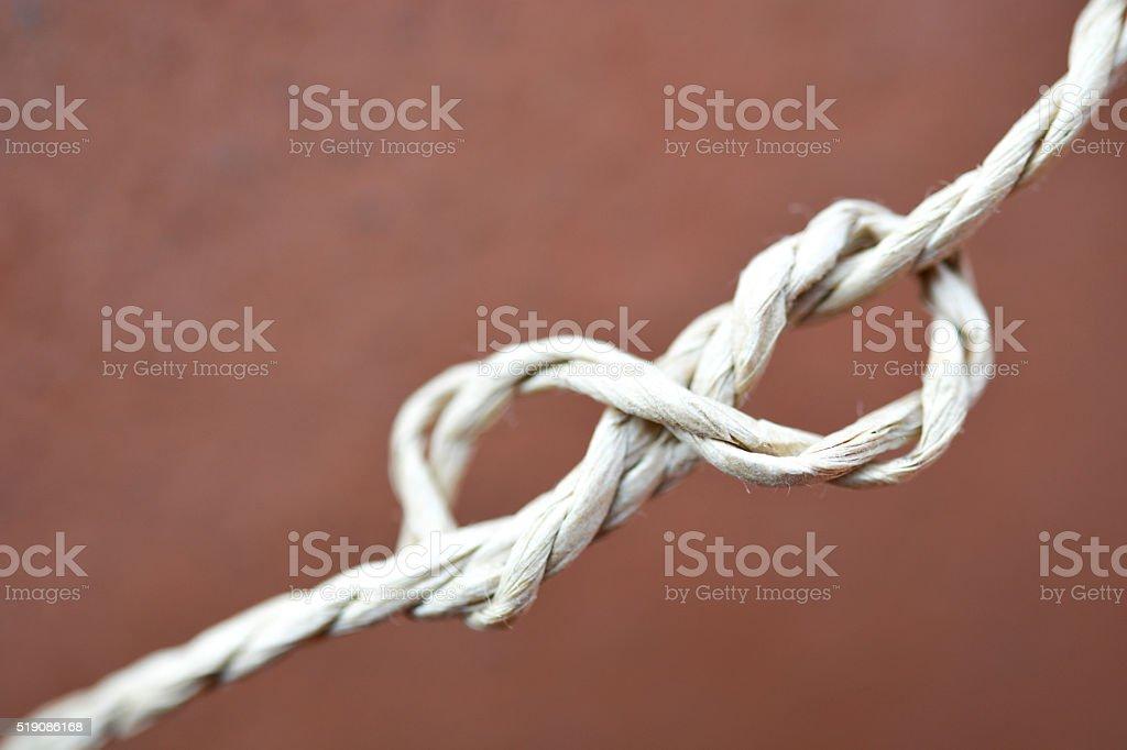 infinito corda stock photo