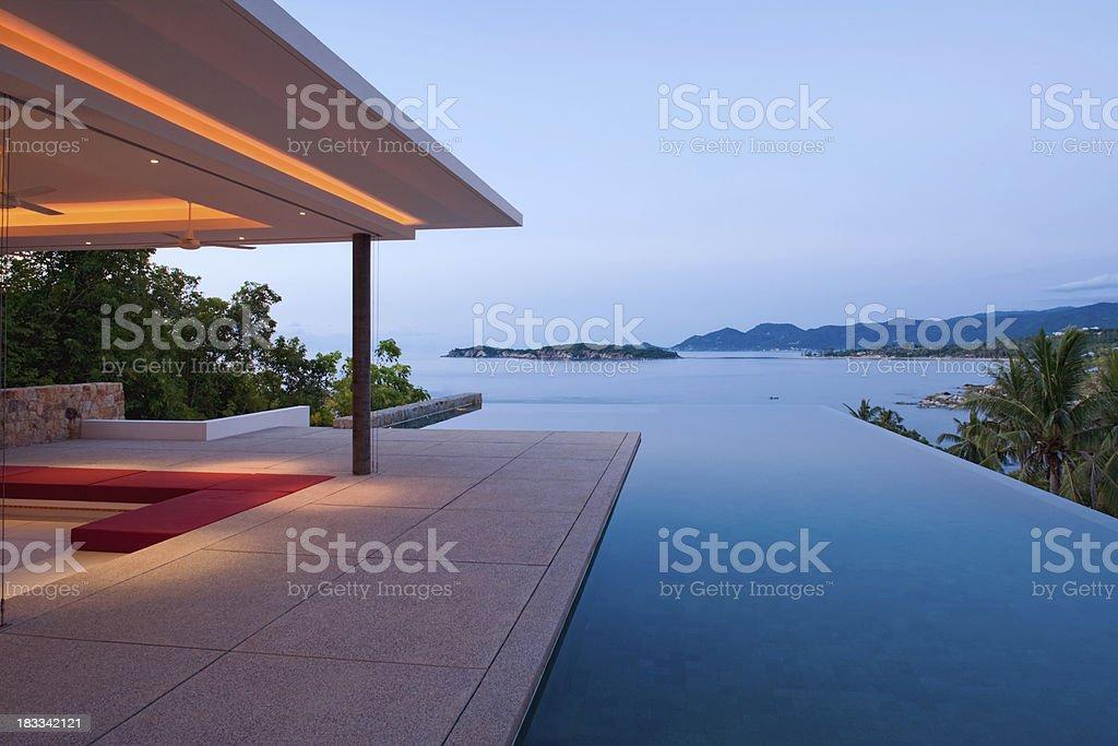 Infinity Pool royalty-free stock photo