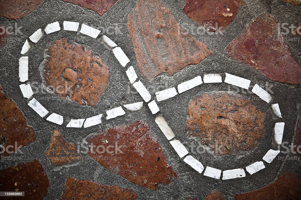 Infinity symbol royalty-free stock photo
