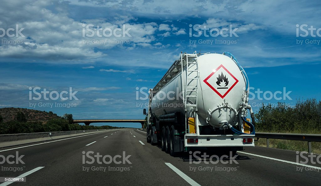 Inflammable material stock photo