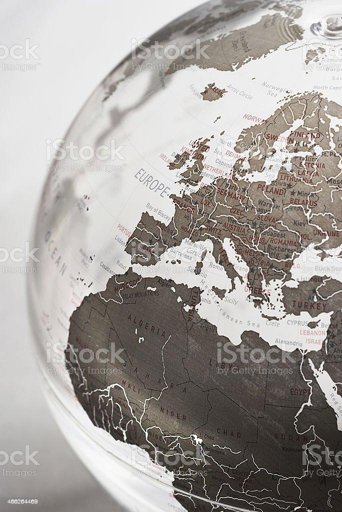 Inflatable Globe stock photo
