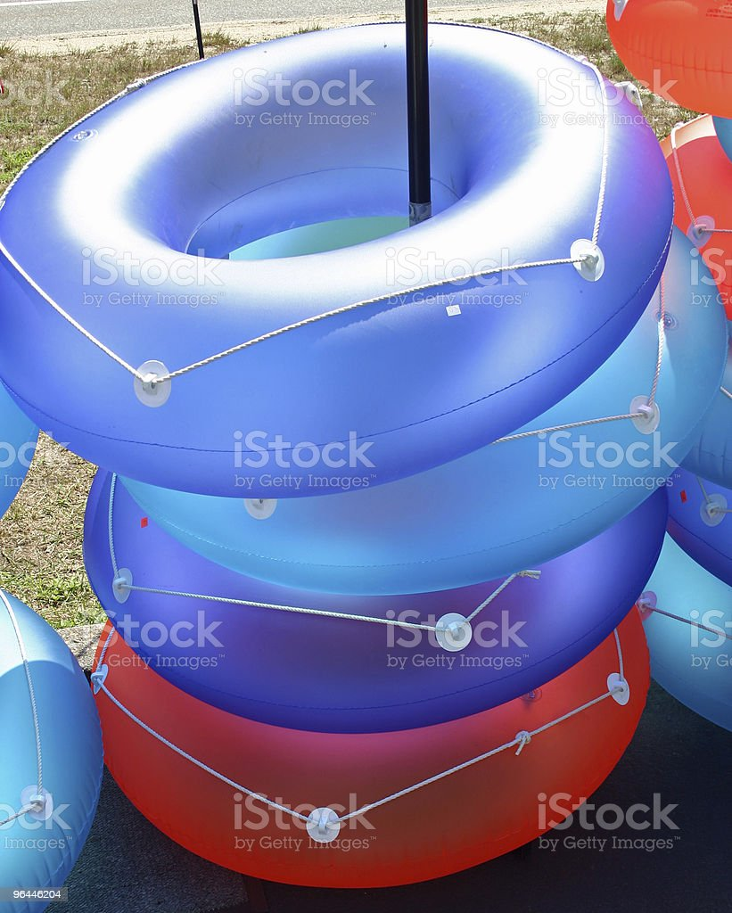 Inflatable Rings royalty-free stock photo