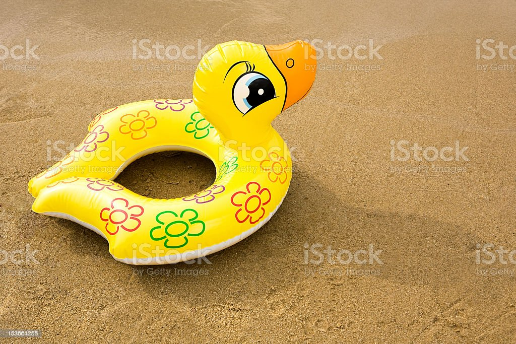 inflatable rubber duck stock photo