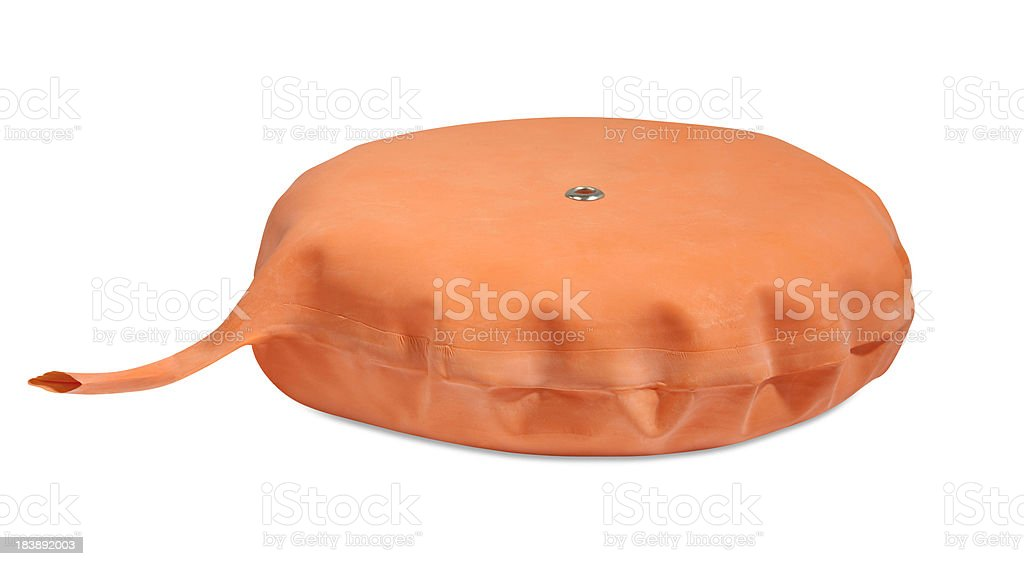 Inflatable whoopee cushion stock photo
