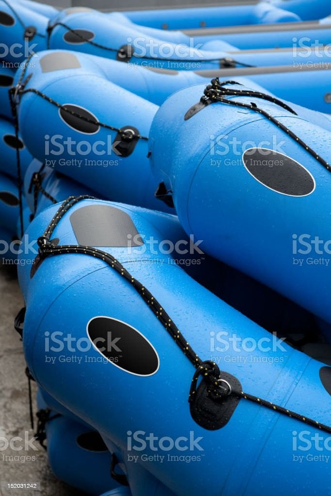 Inflatables stock photo