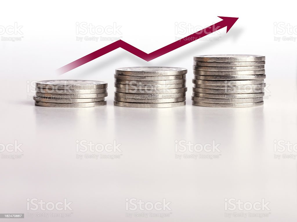 Inflation and Money (Series) stock photo