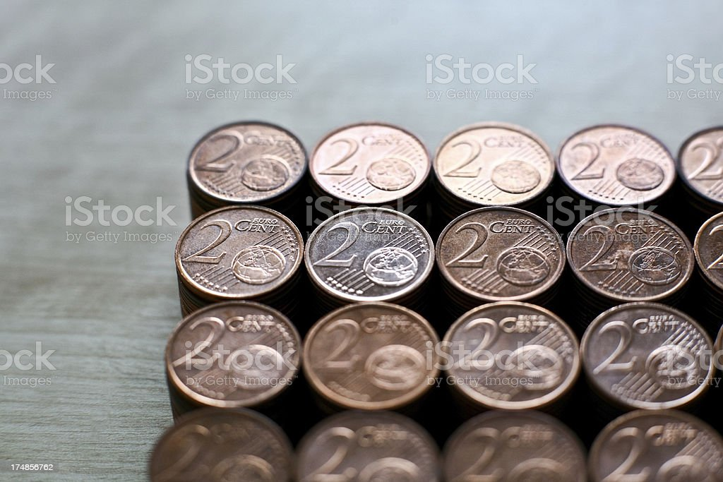 Inflation royalty-free stock photo