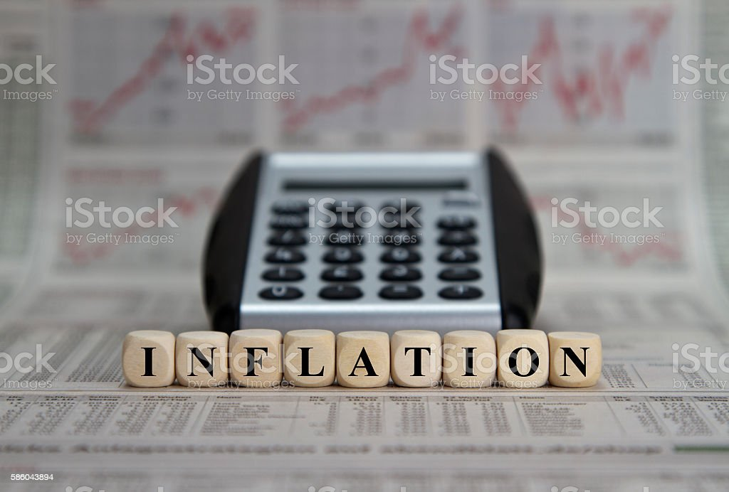 inflation stock photo