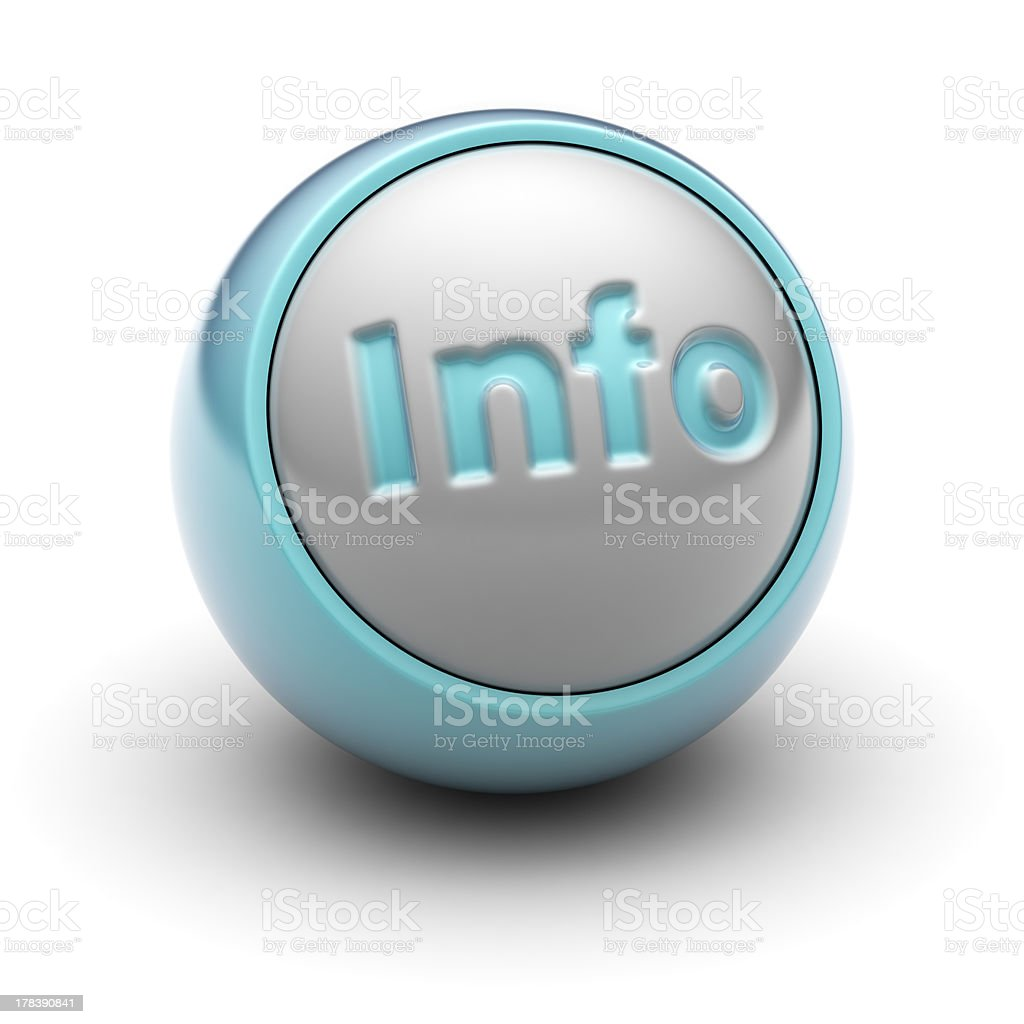 Info royalty-free stock photo