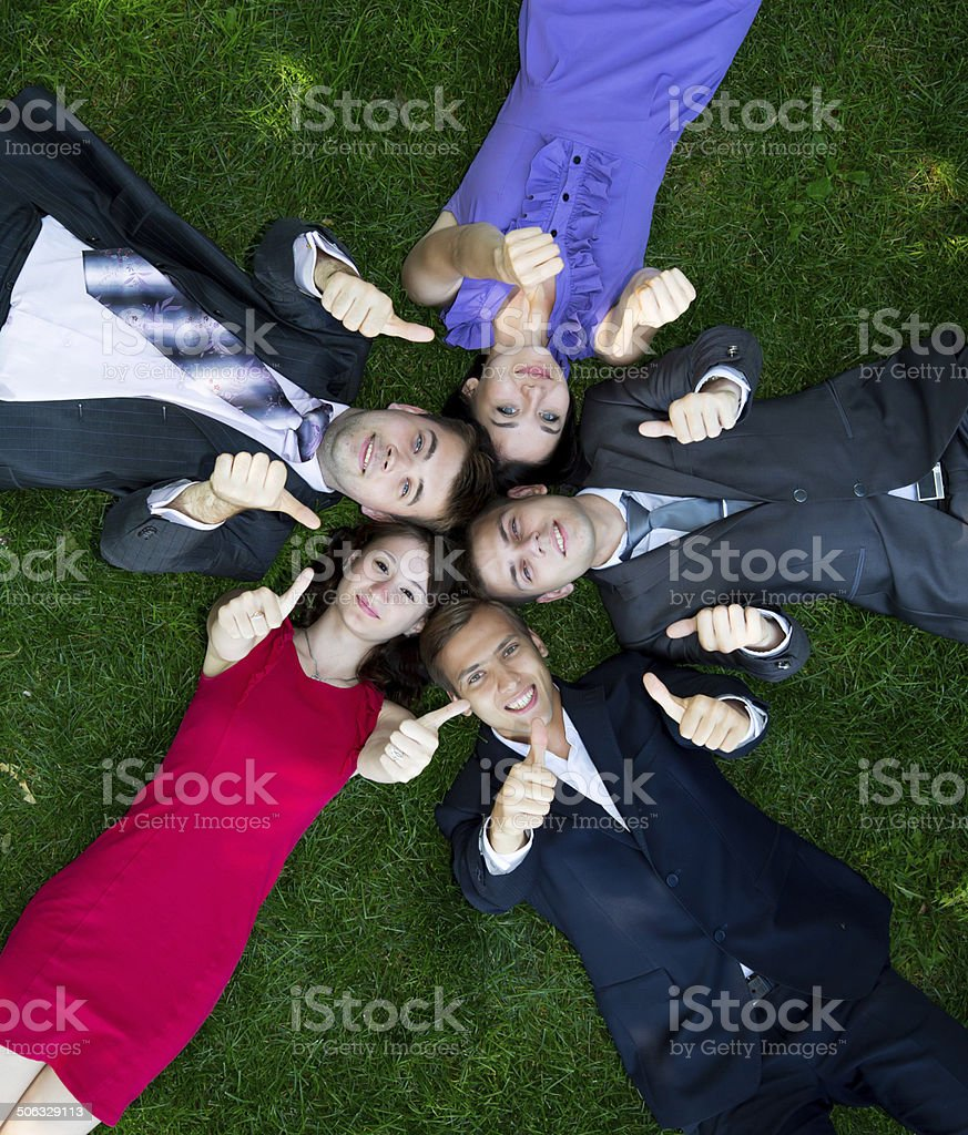 Informal business meeting stock photo