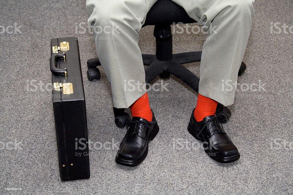 Informal businessman royalty-free stock photo