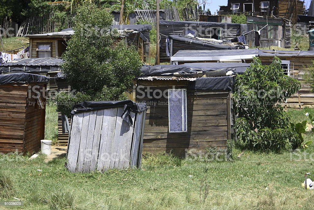 Informal Settlement royalty-free stock photo