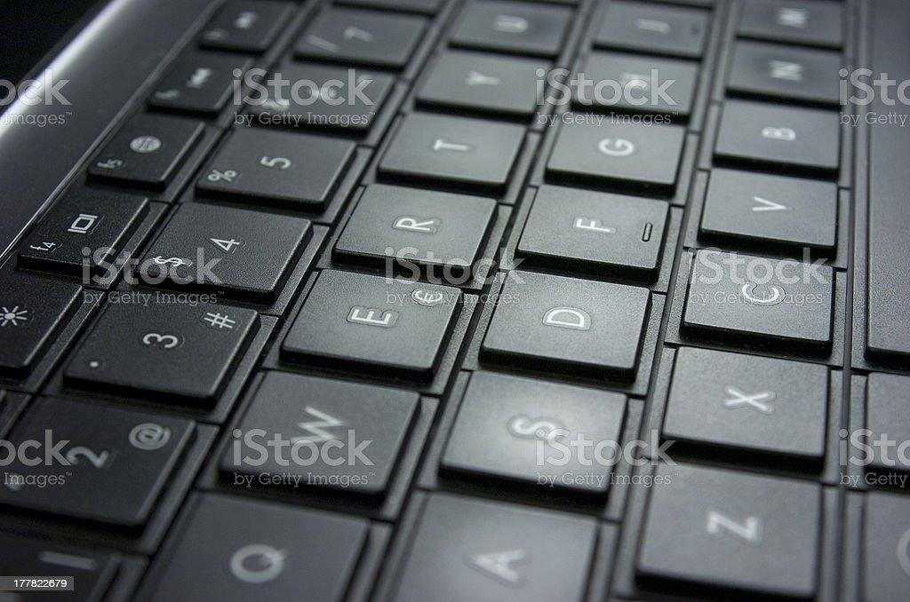 Informatic, computer keyboard. royalty-free stock photo