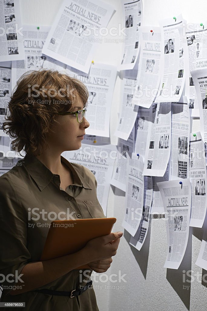 Information abundance royalty-free stock photo