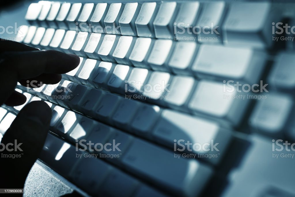 Information Age royalty-free stock photo
