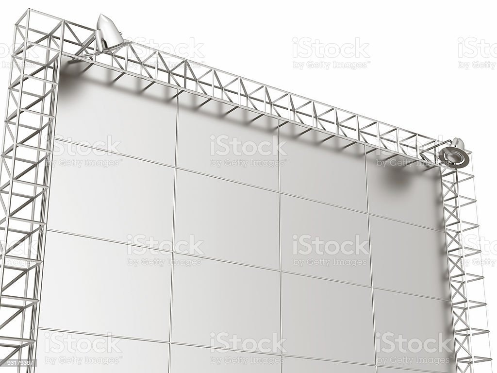 information banner royalty-free stock photo
