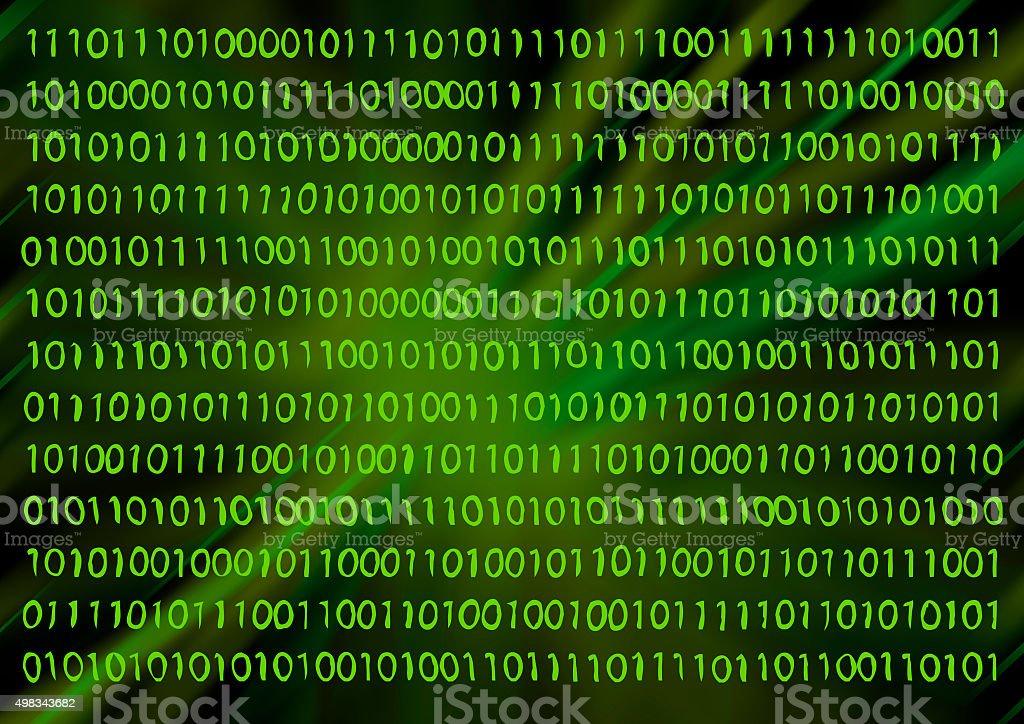 Information. Binary code. stock photo